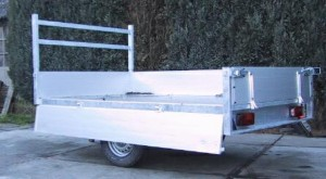 Aanhanger type plateauwagen, Hulleman VOF Terwolde