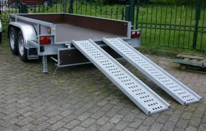 Aanhanger type Machinetransporter |Carbo, Hulleman VOF aanhangers Terwolde