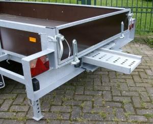 Aanhanger type Machinetransporter, Hulleman VOF aanhangers Terwolde