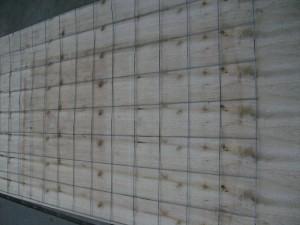 afbeelding Verzinkte gaas mat 210 x 120 cm / maas 15 cm